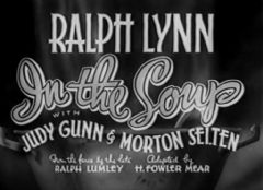 In the Soup 1936 DVD - Ralph Lynn / Judy Gunn